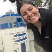 Allison Ravenhall (and LEGO R2-D2)