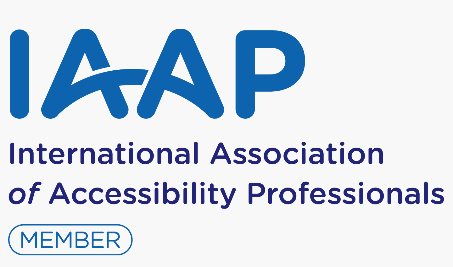 Intopia is a proud member of the International Association of Accessibility Professionals - go to IAAP website